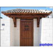 Porches De Madera En Madrid Pergolasjoan