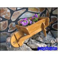 Muebles para jard n en madrid pergolasjoan for Tejados de madera para jardin