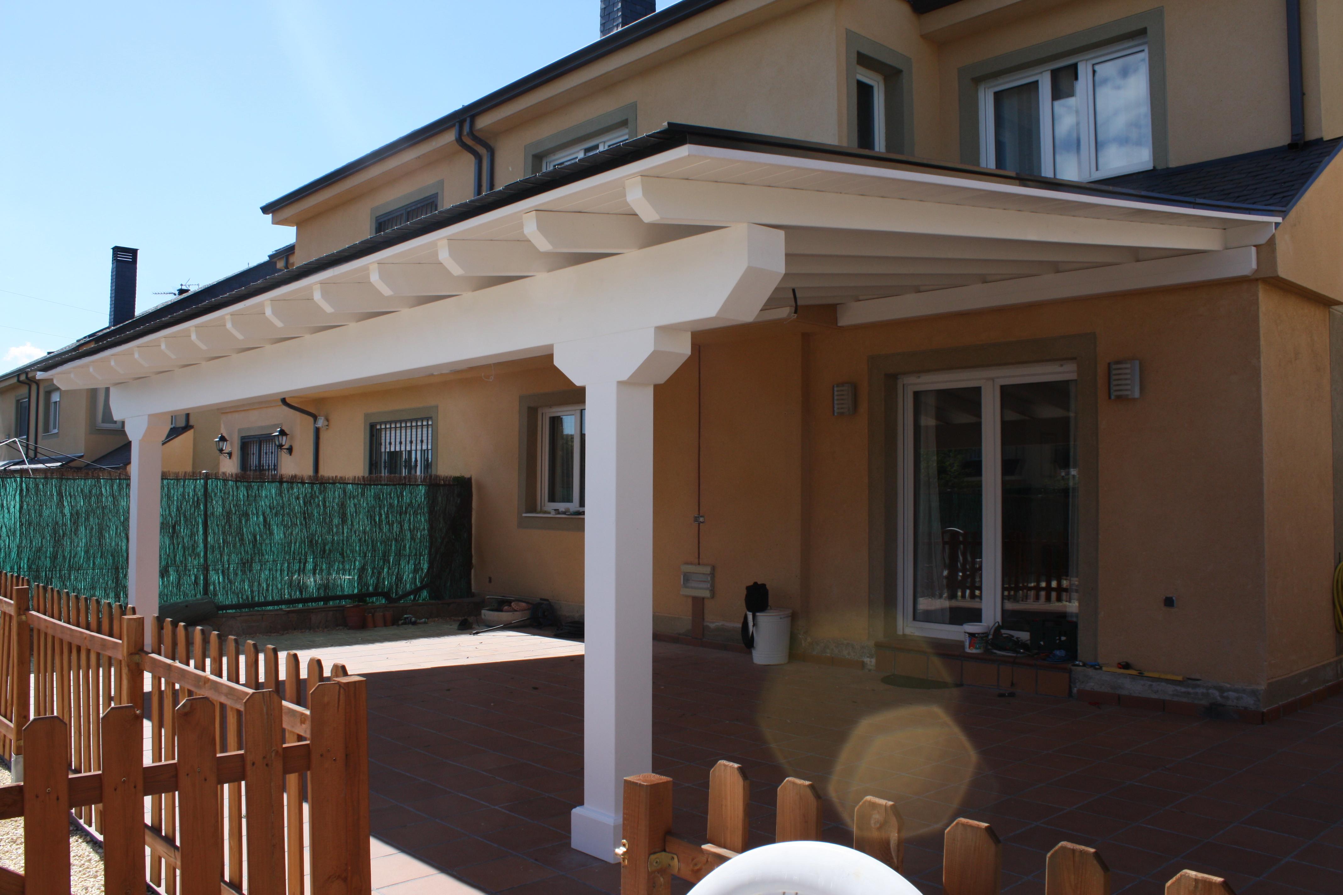 Ofertas en porches de madera p rgolas de madera - Porche de obra ...