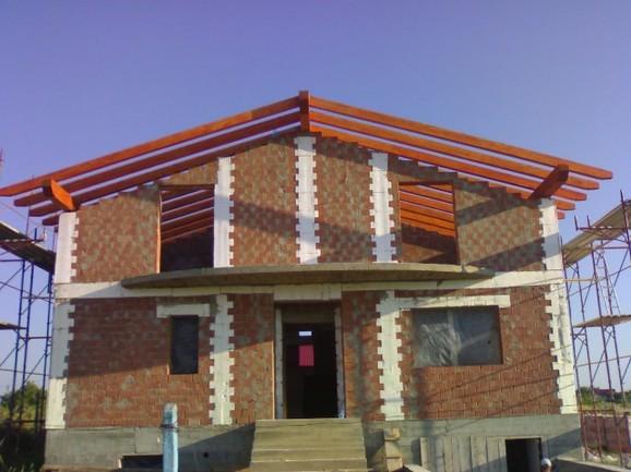 Tejados y cubiertas de madera en madrid pergolasjoan - Estructuras de madera para tejados ...